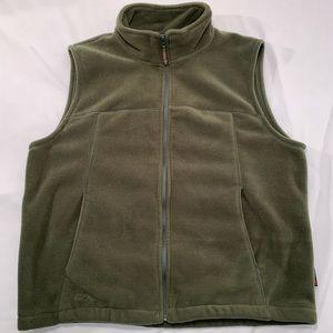 Men's Cabela's Polartec Fleece Vest. Size Large.